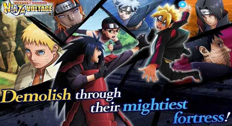 How to download Naruto x boruto ninja voltage