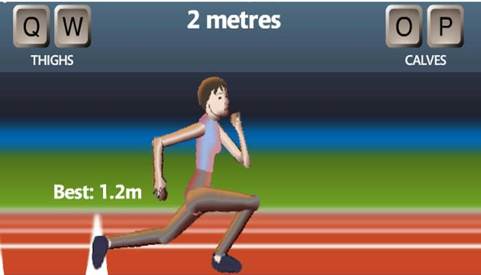 How to play qwop