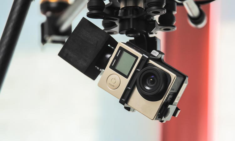 Adjust the gimbal to requirements