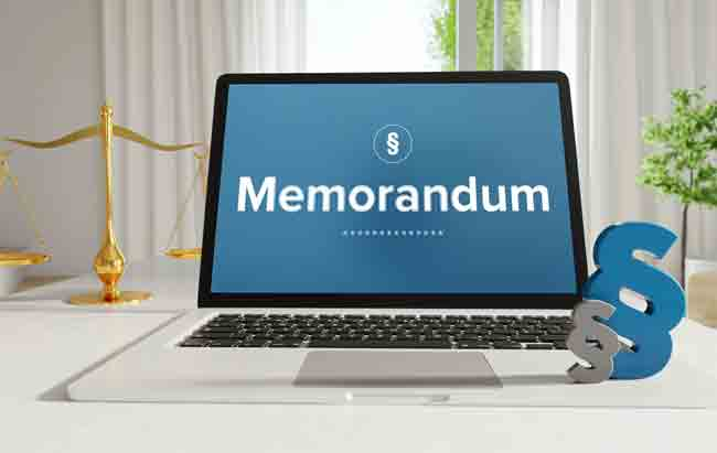 When to use a Memorandum of Understanding