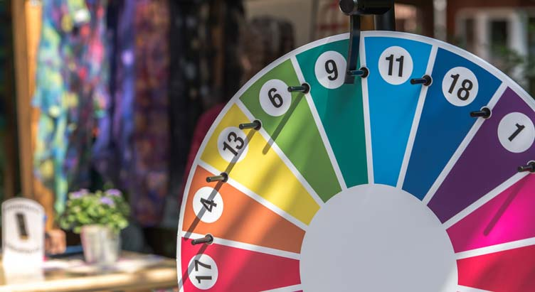 How To Make A Spinning Prize Wheel