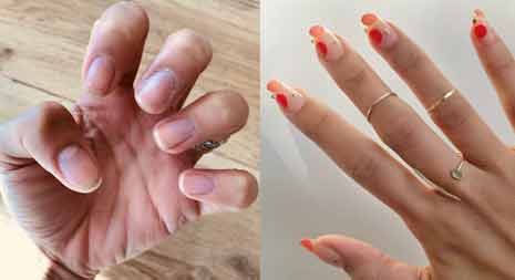 How to Cut Gel Nails