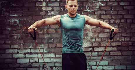Use Resistance Bands For Arms