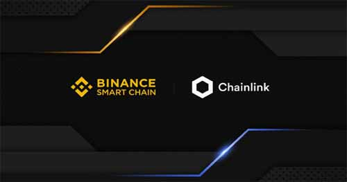 Blockchain and chainlink crypto