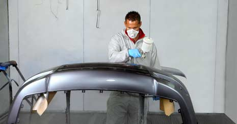 How The Paint Coating Works On A Car