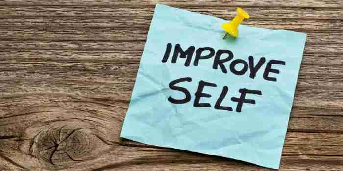 Self Improvement in One Week