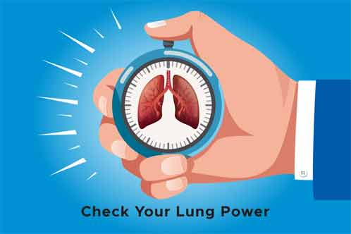 What is the capacity of the lungs